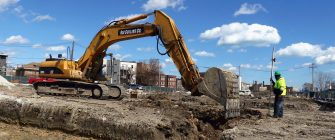Excavation Project Harvest Homes