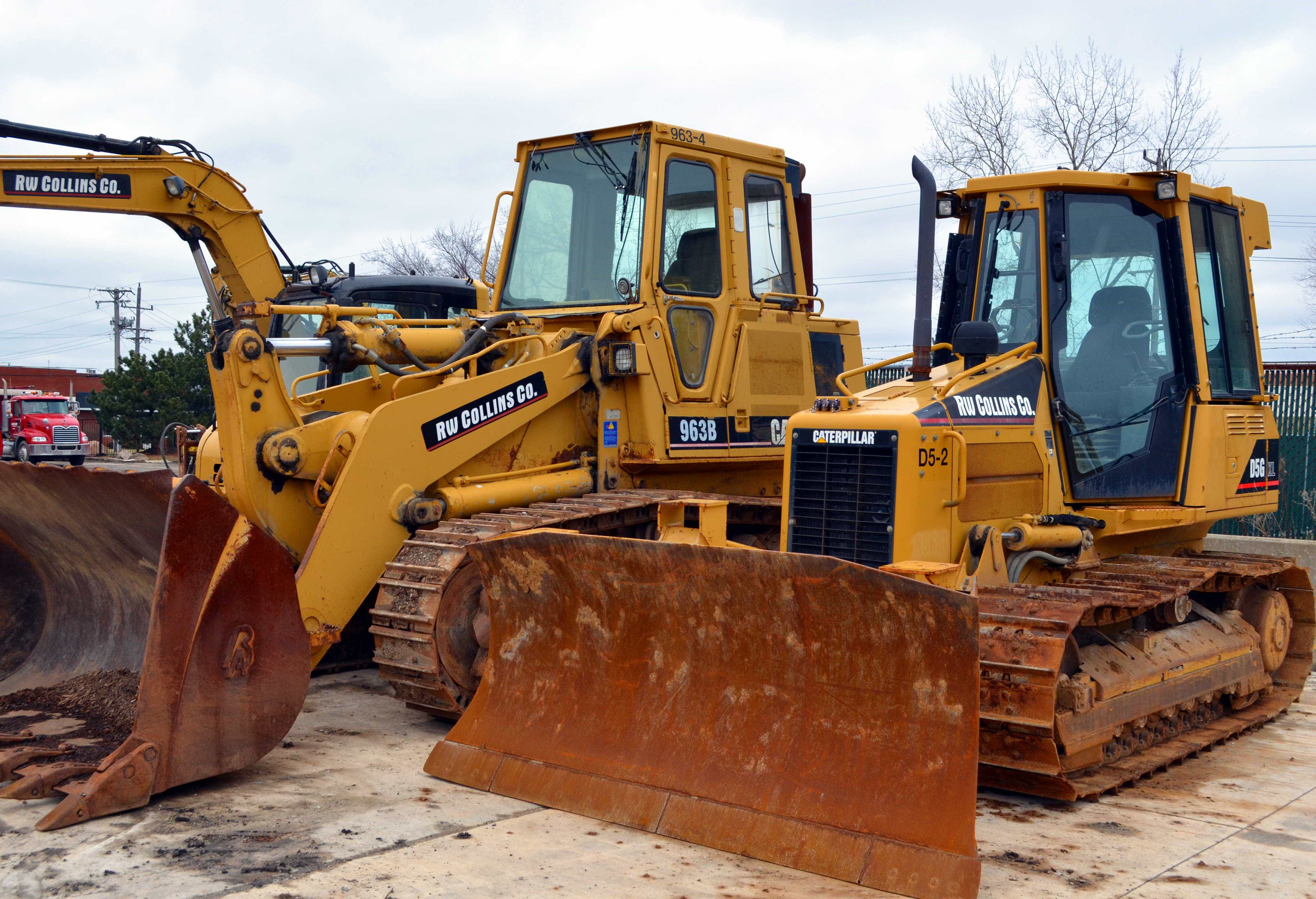 Crawler Loaders & Dozers